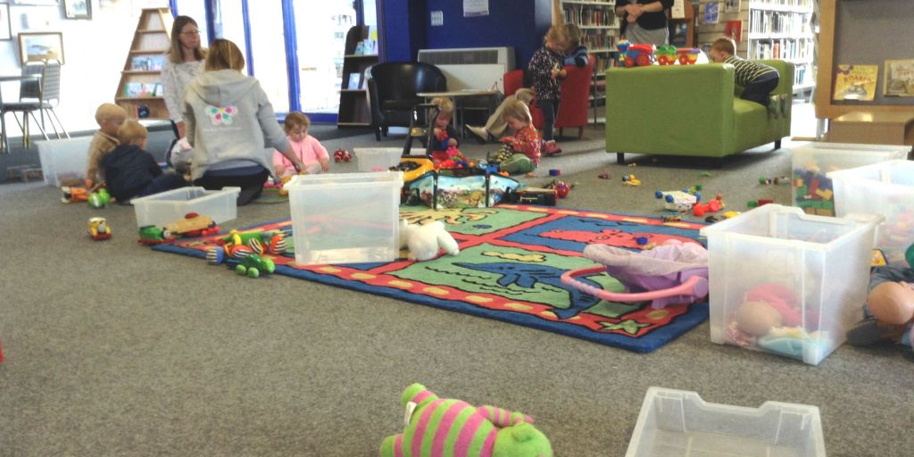 stay and play at Blythe Library